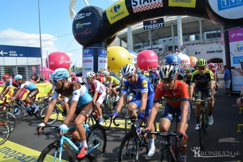 Tour de Pologne - Start w Chorzowie