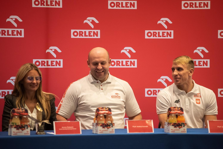 Anita Włodarczyk, Piotr Małachowski i Piotr Lisek