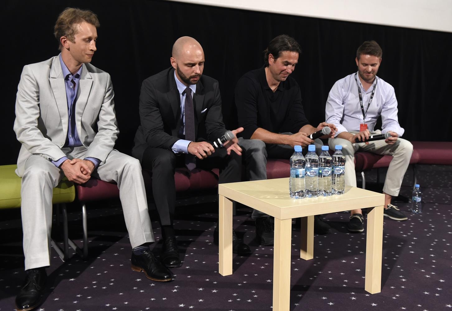 43. Festiwal Polskich Filmów Fabularnych w Gdyni.  Multikino, spotkanie do filmu 303 Bitwa o Anglię. M.in. Christopher Jaciow i Marcin Dorociński