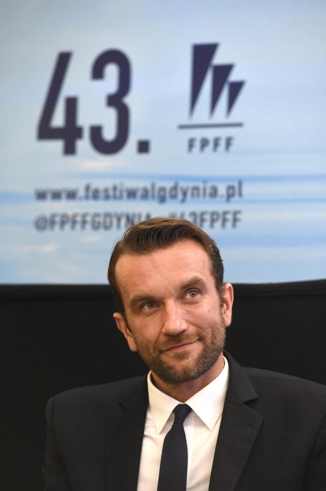 43. Festiwal Polskich Filmów Fabularnych w Gdyni.  Spotkanie w Teatrze Muzycznym z ekipą filmu Zimna Wojna. Aktor Tomasz Kot