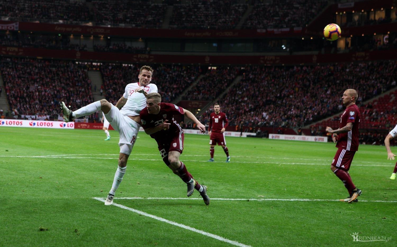 Eliminacje EURO 2020: Polska - Łotwa