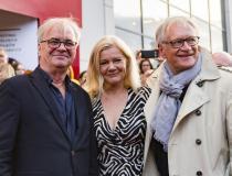 Jacek Bromski, Andrzej Seweryn z żoną