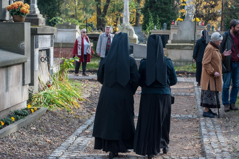 Kwesta na krakowskim Cmentarzu Rakowickim