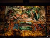 Odsłonięcie kurtyny Wyspiańskiego w Teatrze Słowackiego