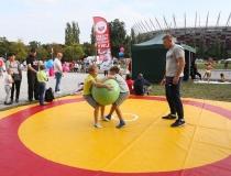 Piknik w ramach VI edycji Narodowego Dnia Sportu na błoniach PGE Narodowego