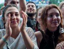 Publiczność w pierwszym dniu Kraków Live Festival 2019