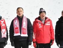 Puchar Świata w Wiśle 2018. Dekoracja, Andrzej Duda