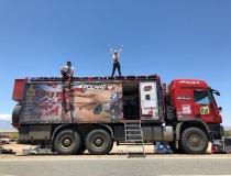 Rafał Sonik na Rajdzie Dakar 2015 i 2018