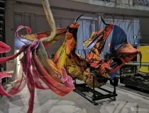 "Cirque du Soleil ""Toruk - Pierwszy lot"": backstage"