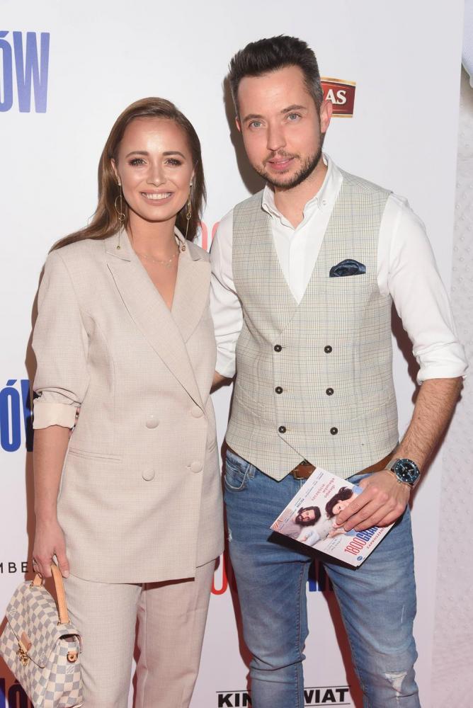 Agnieszka Mrozińska i Alex Caprice
