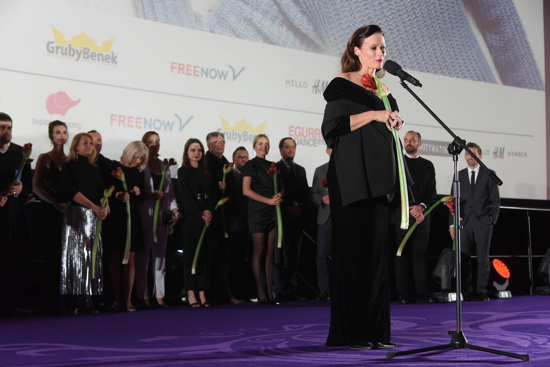 Magdalena Różczka i twórcy filmu