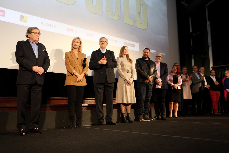 "Uroczysta premiera filmu ""Solid Gold"""
