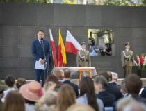 Uroczystości w Muzeum Powstania Warszawskiego