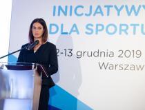 Minister sportu Danuta Dmowska-Andrzejuk