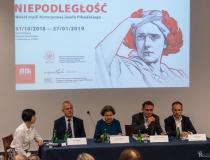 """Wystawa """"Niepodległość. Wokół myśli historycznej Józefa Piłsudskiego"""""""