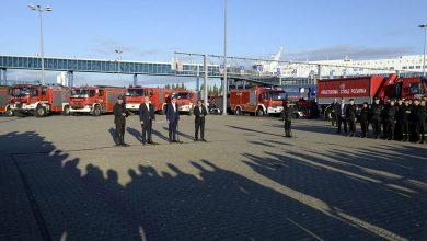Photo of Polscy strażacy wrócili z gaszenia pożarów w Szwecji. Powitano ich w Świnoujściu