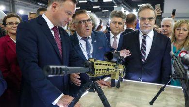 Photo of Prezydent Duda na kieleckich targach przemysłu obronnego