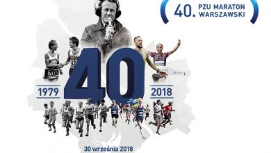 Photo of Jubileuszowy 40. PZU Maraton Warszawski przed nami