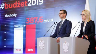 Photo of Rząd przyjął projekt budżetu na 2019 rok. Szczegóły wydatków i dochodów