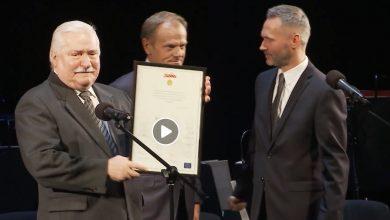 Photo of Urodziny Lecha Wałęsy w Gdańsku. Były prezydent otrzymał wyjątkowy dyplom