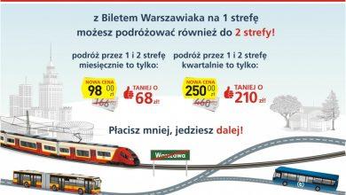 Photo of Bilety warszawiaka i młodego warszawiaka – zmiany