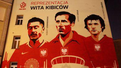 Photo of Reprezentacja Polski wita kibiców. Mural w Chorzowie [ZDJĘCIA]
