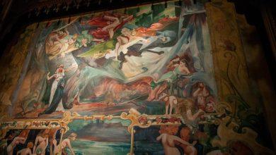 Photo of Odsłonięcie kurtyny Wyspiańskiego w Teatrze Słowackiego w Krakowie [ZDJĘCIA][WIDEO]