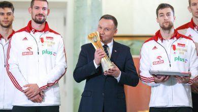 Photo of Mistrzowie Świata u prezydenta. Duda: Polska siatkówka to top of the top! [WIDEO][ZDJĘCIA]
