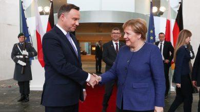 Photo of Prezydent spotkał się z Kanclerz Niemiec Angelą Merkel. Duda o… żarówkach