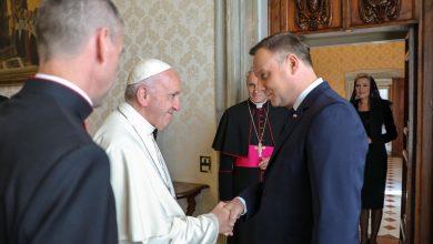 """Photo of Prezydent Duda rozmawiał z papieżem Franciszkiem: """"Przejaw solidarności w czasie pandemii"""""""