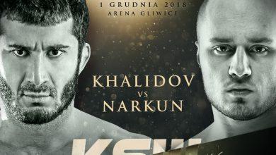 Photo of Rewanż na KSW 46 w Gliwicach: Mamed Khalidov vs Tomasz Narkun