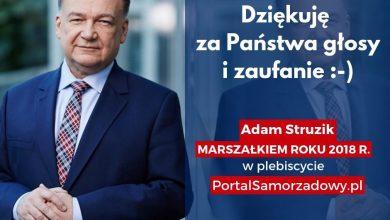 Photo of Adam Struzik najlepszym marszałkiem w 2018 roku