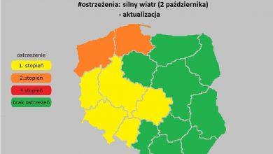 Photo of UWAGA na silny wiatr w Polsce