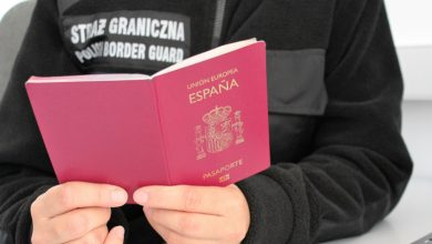 Photo of Irańczyk udawał Hiszpana w Polsce. Cudzoziemiec leciał z Grecji do Anglii