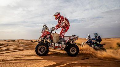 Photo of Rafał Sonik na trasie drugiego etapu Rajdu Maroka