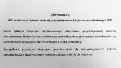 Photo of Prezydencka kolumna potrąciła dziecko. Andrzej Duda w Oświęcimiu