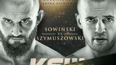Photo of KSW 46 w Gliwicach. Artur Sowiński zmierzy się z Kamilem Szymuszowskim