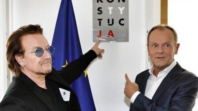 Photo of Bono odwiedził Brukselę. Spotkał się z Antonio Tajanim i Donaldem Tuskiem. Wymowne ZDJĘCIE