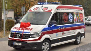 Photo of Nowa karetka od WOŚP dla szpitala w Ostrowie Wielkopolskim