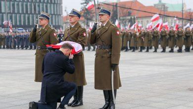 Photo of Obchody Narodowego Święta Niepodległości. Prezydent Andrzej Duda przy Grobie Nieznanego Żołnierza