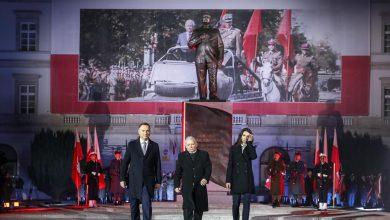 Photo of Uroczystości odsłonięcia pomnika prezydenta Lecha Kaczyńskiego