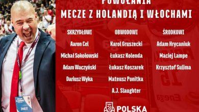 Photo of Skład reprezentacji Polski koszykarzy na mecze z Holandią i Włochami