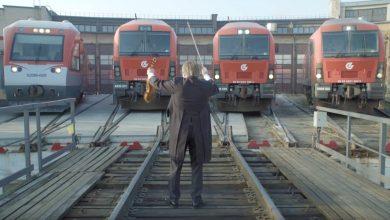 """Photo of 100-lecie niepodległości. Litewskie lokomotywy zagrały """"Mazurka Dąbrowskiego"""" [WIDEO]"""