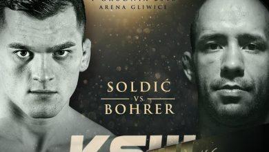 Photo of KSW 46 w Gliwicach. Soldić vs Bohrer w miejsce pojedynku Mańkowski vs Souto