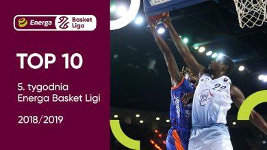 Photo of TOP 10 5. tygodnia Energa Basket Ligi. Trey Davis najlepszym graczem [WIDEO]