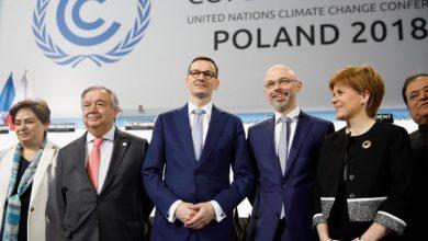 Photo of Premier Mateusz Morawiecki na Szczycie Klimatycznym COP24 w Katowicach