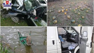 """Photo of Lubelszczyzna. Zabawne """"wpadki"""" zachowań sprawców. """"Antylopa"""" rozbiła auto"""
