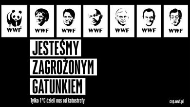 Photo of Wszyscy jesteśmy zagrożonym gatunkiem. Trump, Duda, Merkel, Tusk, Obama, Kaczyński na logo WWF [WIDEO]