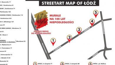 Photo of Murale, rzeźby i instalacje artystyczne. Poznaj mapę łódzkiego street artu