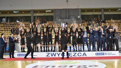 Photo of Suzuki Puchar Polski Kobiet dla CCC Polkowice. Fagbenle MVP turnieju